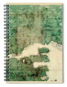 Gulf Of St Lawrence 1541 Spiral Notebook