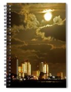 Gulf Shores Night Skys Spiral Notebook