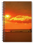 Gulf Sunset Spiral Notebook
