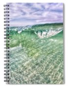 Gulf Waves Spiral Notebook