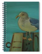Gull And Ring Spiral Notebook