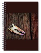 Gull Theft And Claw Left Spiral Notebook