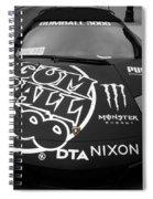 Gumball Rally Lamborghini Spiral Notebook