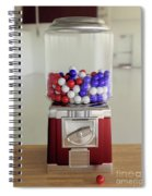 Gumball Red White And Blue Spiral Notebook