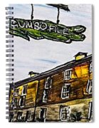 Gumbo File' Spiral Notebook