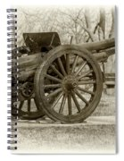 Gun At Fort Howard Spiral Notebook