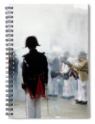 Gun Smoke Spiral Notebook