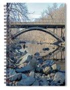 Gunpowder Falls St Pk Bridge - Pano Spiral Notebook
