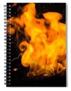 Gunpowder Flames Spiral Notebook