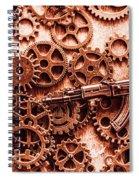 Guns Of Machine Mechanics Spiral Notebook