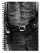 Gunslinger Tombstone Arizona Spiral Notebook