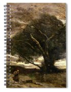 Gust Of Wind Spiral Notebook