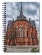 Gustav Adolf Church Facade Spiral Notebook