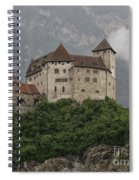 Gutenberg Castle Spiral Notebook