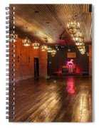 Guthrie Dance Hall  Spiral Notebook