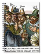 Guy Fawkes, 1570-1606 Spiral Notebook