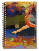 Gymnast Girl Spiral Notebook