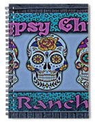 Gypsy Chix Ranch Spiral Notebook