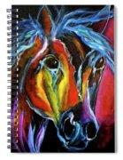 Gypsy Equine Spiral Notebook