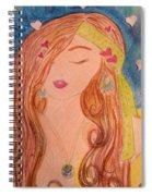 Gypsy Girl 2 Love To The World Spiral Notebook