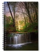 Gypsy Glen  Rd Waterfall  Spiral Notebook
