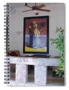 Gypsy Lady Spiral Notebook