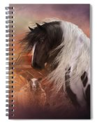 Gypsy On The Farm Spiral Notebook