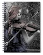 Gypsy Player II Spiral Notebook