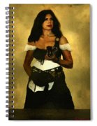 Gypsy Polly Spiral Notebook