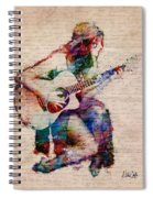 Gypsy Serenade Spiral Notebook