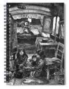 Gypsy Wagon, 1879 Spiral Notebook
