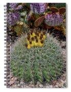 H D R Budding Cactus Spiral Notebook
