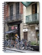 Barcelona Shops Spiral Notebook