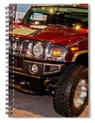 H2 Hummer Spiral Notebook