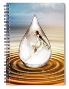 H2O Spiral Notebook