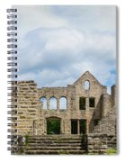 Ha Ha Tonka Castle Panorama Spiral Notebook