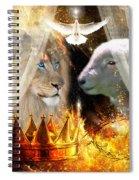 Ha-shilush Ha-kadosh  Spiral Notebook