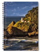 Haceta Head Light 2 Spiral Notebook