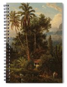 Hacienda De San Esteban De Puerto Cabello, Venezuela Spiral Notebook