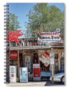 Hackberry General Store On Route 66, Arizona Spiral Notebook