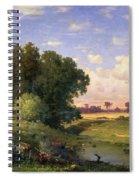Hackensack Meadows - Sunset Spiral Notebook