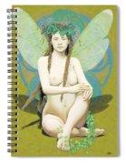 Hada Amarilla Spiral Notebook