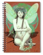 Hada Del Bosque Spiral Notebook