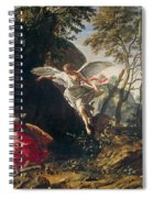 Hagar And Ishmael In The Wilderness Spiral Notebook