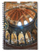 Hagia Sophia Dome Spiral Notebook