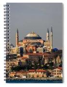 Hagia Sophia - Istanbul Turkey Spiral Notebook