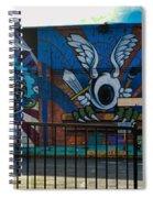 Haight Ashbury Mural Spiral Notebook
