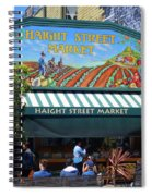 Haight Steet Market San Francisco Spiral Notebook
