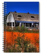 Hainesville Barn Color Spiral Notebook