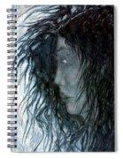 Hair Spiral Notebook